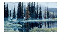 York Wallcoverings Lake Forest Lodge UR2021M Heaven On Earth Mural, Multi by York Wallcoverings [並行輸入品]