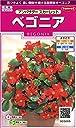 サカタのタネ 実咲花5665 ベゴニア アンバサダー スカーレット 10袋セット