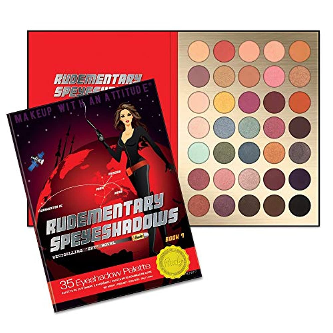 革新ドリル堀(3 Pack) RUDE? Rudementary Speyeshadows - Book 7 (並行輸入品)
