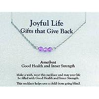 Joyful Life Necklace (Amethyst) [並行輸入品]