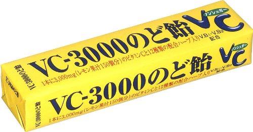 ノーベル VC-3000のど飴 スティック 10粒×10個