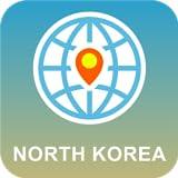 北朝鮮 地図オフライン
