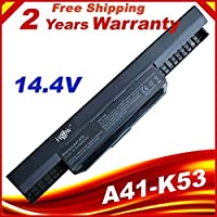 4 Cells 14.4V battery A32-K53 for Asus A43E A53S K43E K43U K43S X54 X54H K43SJ X54C X84 K53S K53 K53SV K53T X44H bateria
