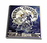 """BLNヴィンテージ自転車広告ポスター–Vintage Manufacture roubaisienne自転車Frenchポスター–Drawing Book 8"""" x 8"""" db_149188_1"""