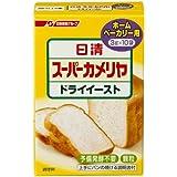 日清フーズ スーパーカメリヤ ドライイースト ホームベーカリー用 (3g×10袋)×6箱