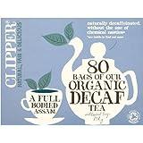Clipper Organic Decaf Tea (クリッパー オーガニック デカフェティー80袋)- 80 Bags【海外直送品】【並行輸入品】