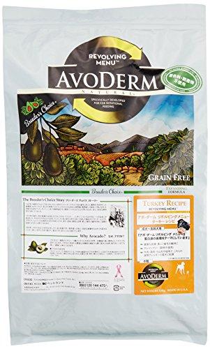 アボ・ダーム (AVODERM) ドッグフード リボルビングメニュー ターキーレシピ 5.6kg