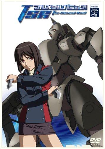 フルメタル パニック  The Second Raid Act3,Scene02+03  通常版   DVD