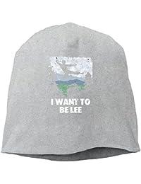 【Dera Princess】ユニセックス ニット帽 ロゴ コットン ニットキャップ 帽子 オールシーズン 被れる