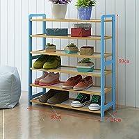 靴ラックナチュラル竹木製シンプルな靴ブーツラックストレージオーガナイザーホルダー多層多機能ストレージシェルフ (サイズ さいず : 80 * 24 * 89cm)
