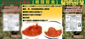 戦闘糧食(ミリめし) サバイバル食品 あつあつ すき焼きハンバーグ[童友社]