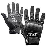 Valken Zulu ハードナックル手袋 ブラック L ブラック