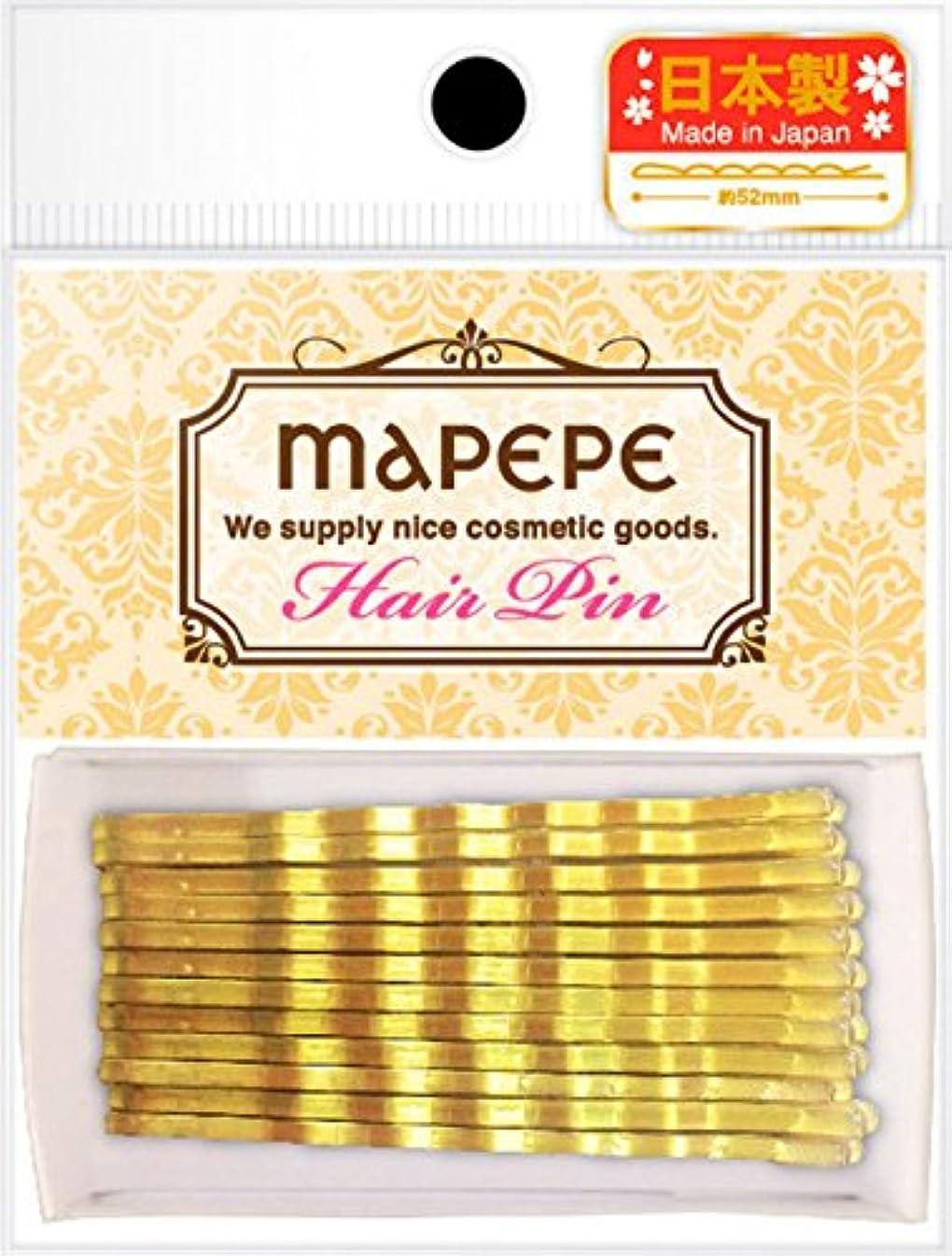 癒す一元化する遠近法マペペ アメリカピン(ゴールド)