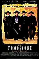 Tombstone映画ポスター27x 40カート・ラッセル、ヴァル・キルマー、サム・エリオット、B Made in the U。S。A。