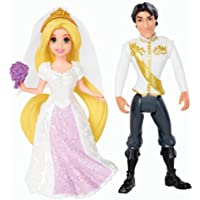 マテルディズニープリンセスリトル王国Magiclipラプンツェルおとぎ話の結婚式の人形