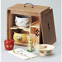 色紙箱揃(焼桐)[ 255 x 175 x 255mm ]【 茶道具 】【 茶道 お土産 和食器 セット 】