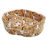 スヌーピー ペットソファ & ミニタオル セット ペットベッド ペットハウス 犬 猫 (ベージュA) SNOOPY