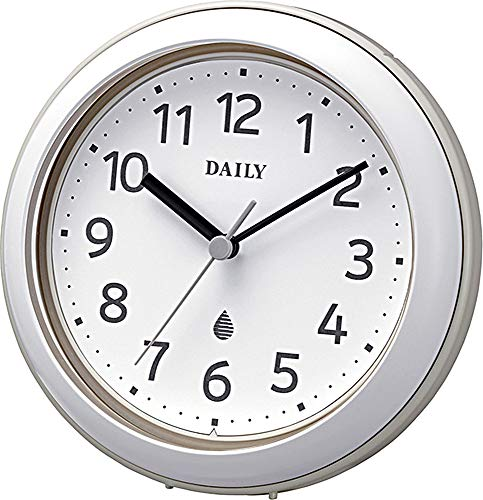 リズム時計工業 防水クロック