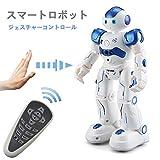 スマートラジコンロボット 子供のおもちゃ ジェスチャーコントロール 歌うことができる 踊ることができる 遠隔操作 (ホワイト) [並行輸入品]