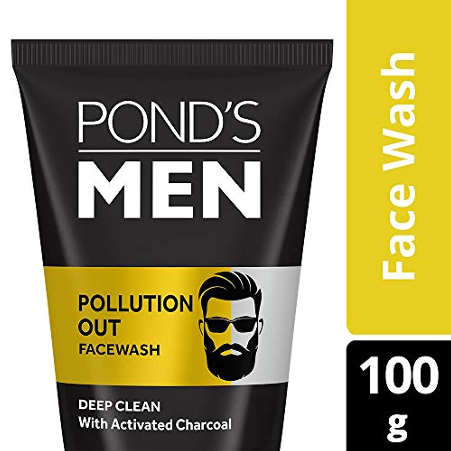 運賃波同等のPond's Men Pollution Out Face Wash, Feel Fresh 100gm
