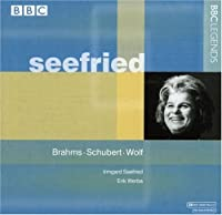 ブラームス/シューベルト/ヴォルフ:声楽作品集(ゼーフリート)(1962)