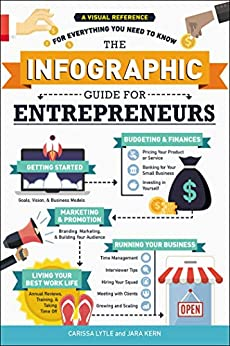 The Infographic Guide for Entrepreneurs: A Visual Reference for Everything You Need to Know by [Lytle, Carissa, Kern, Jara]