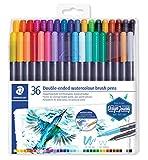 ステッドラー カラー筆ペン DUO 36色 3001 TB36