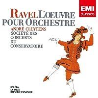 ラヴェル:管弦楽曲集 第2集 ボレロ ラ・ヴァルス スペイン狂詩曲