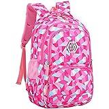 JiaYou Girl Flower Printed Primary Junior High University School Bag Bookbag Backpack/with Pencil Case 2sets