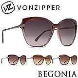 サングラス BONZIPPER ボンジッパー / BEGONIA ベゴニア レディース UVカット AD217025 BRN