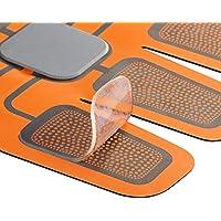 高電導ジェルシート EMS 腹筋ベルト専用 筋肉トレパット対応 ジェルシート 腹筋トレーニング用 互換パッド 皮膚バリア粘着プレート 密封パッケージ採用 2枚入×3袋 計6枚