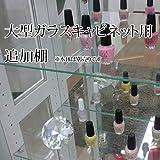 大型ガラスコレクションケース用 追加ガラス棚   コレクションラック ガラス板