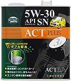 ルート産業 エンジンオイル モリドライブ(MORIDRIVE) アクトプラス 5W-30 SN 3L