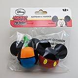 ディズニーアンテナボールUSA限定版(ミッキー&グーフィーボディ)2種類のアンテナトッパーセットMickey and Goofy Body Antenna Topper