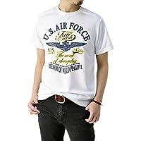 (フラグオンクルー) FLAG ON CREW ゆうパケット発送 吸汗速乾 Tシャツ メンズ アメカジ ミリタリー 半袖 カットソー M L LL 3L 4L / D1J