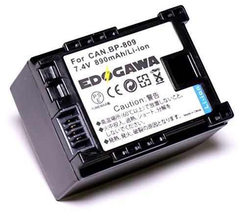EDOGAWA BP-809 互換バッテリー CANON キャノン ED-BAT225172