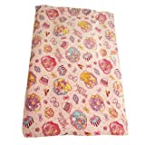 バンダイ HUGっと プリキュア ハーフケット毛布 ブランケット ピンク 約100×140cm TO-187705 100240626402-01-01