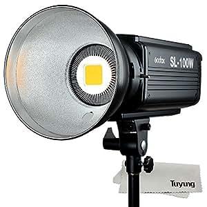 Godox SL-100W 100ws 5600±200K 6500(1m) LUX LED連続ビデオライト カメラ&ビデオカメラ用【並行輸入品】