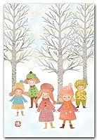 ポストカード 冬の日