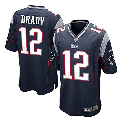 Nike(ナイキ) NFL ニューイングランド・ペイトリオッツ トム・ブレイディ ユニフォーム Game Jersey (ネイ...