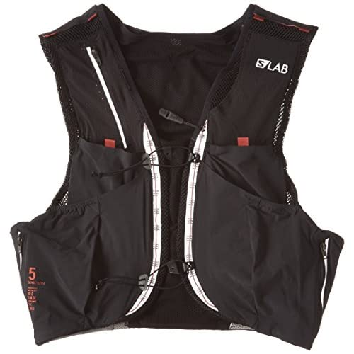 [サロモン] ランニングバッグ S-LAB SENSE ULTRA 5 SET L39381500 M BLACK/RACING RED