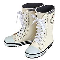 eeac2f7767ff8 キッズ 長靴 BOST-R ボストアール 靴紐シューズ風 レインブーツ 子供 男の子 女の子 (