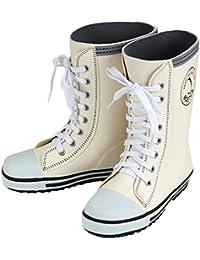 キッズ 長靴 BOST-R ボストアール 靴紐シューズ風 レインブーツ 子供 男の子 女の子 (15cm-23cm)