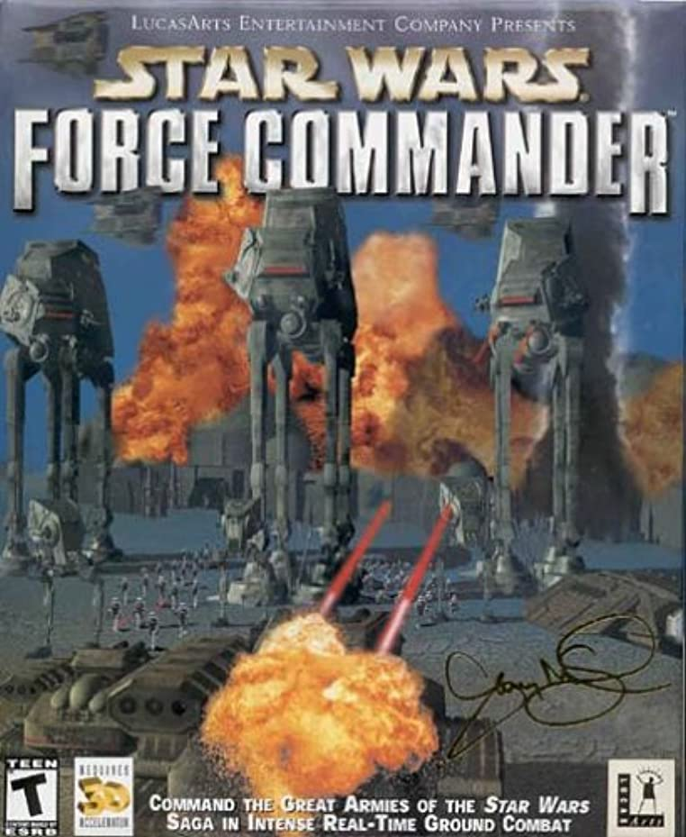 雇用終わった興奮するStar Wars: Force Commander (輸入版)
