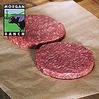 モーガン牧場ビーフ アメリカ産 牛肉 熟成 高品質 ハンバーガー用牛肉パティ プレミアム アメリカンビーフ ホルモン剤や抗生物質不使用 3枚 500g