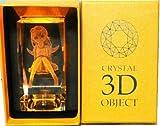 化物語 物語シリーズ 3Dクリスタルオブジェクト 忍野忍 高さ約10cm [ライト内臓品]