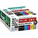 エコリカ リサイクルインクカートリッジ CANON BCI-351XL 350XL/6MPリサイクル 6色セット(増量) ECI-C351XL-6P