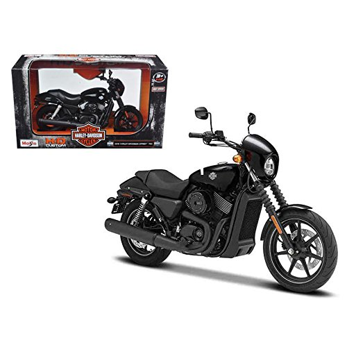 [ハーレー ・ ダビッドソン]Harley-Davidson 2015 Harley Davidson Street 750 Motorcycle Model 1/12 by Maisto 32333 [並行輸入品]