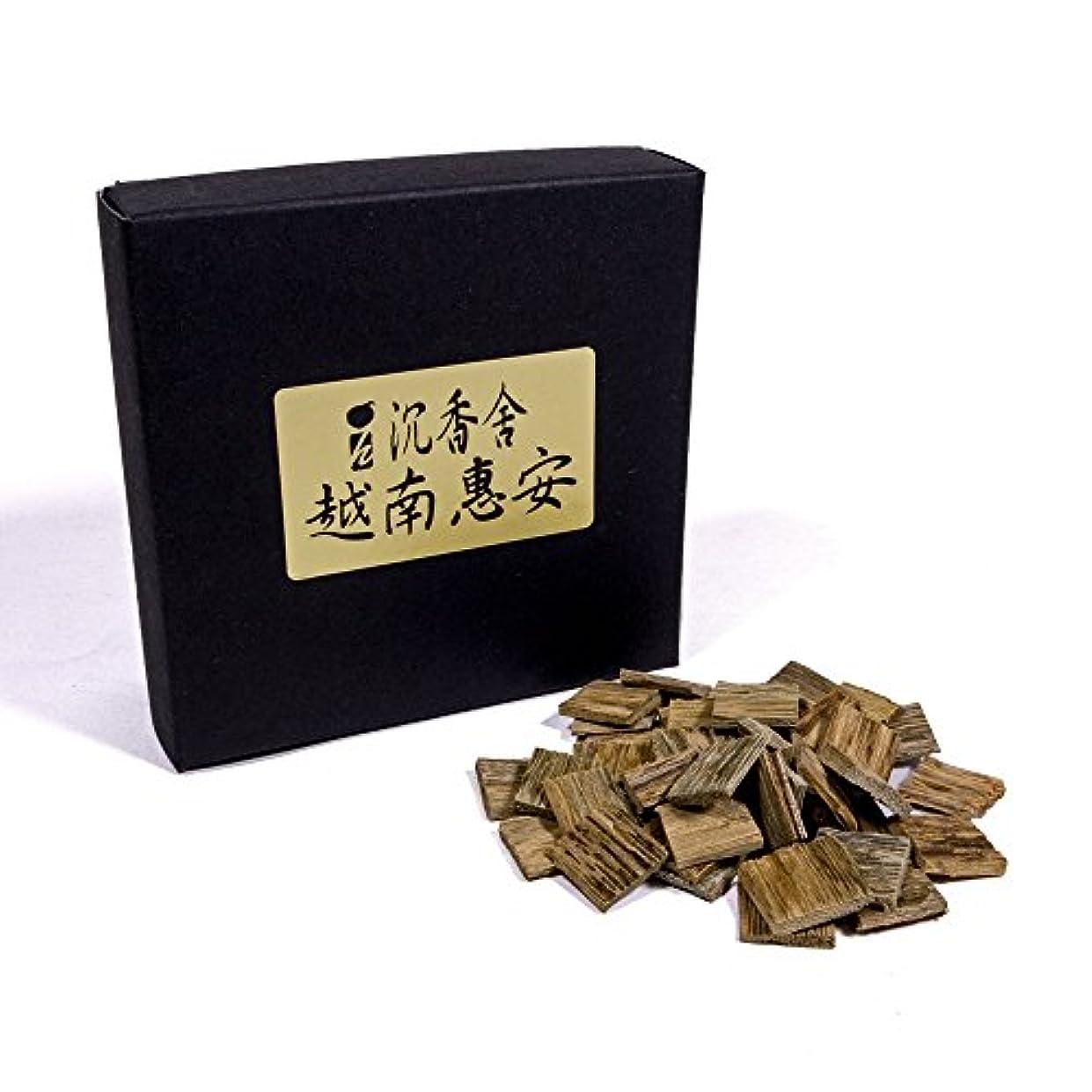 個人的な蒸留する追い払う越南惠安 沈香角割刻み ベトナム産 沈香 5g お香 お焼香 焼香 天然沈香香木刻み こづつ用