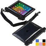 Cooper Cases(TM) Voda Asus FonePad 7 Dual Sim (ME175CG), 7 LTE (ME372CL)タブレット防水スリーブ (ブラック) (軽量デザイン, タッチセンシティブウィンドウ, 水密シール, 調節可能な